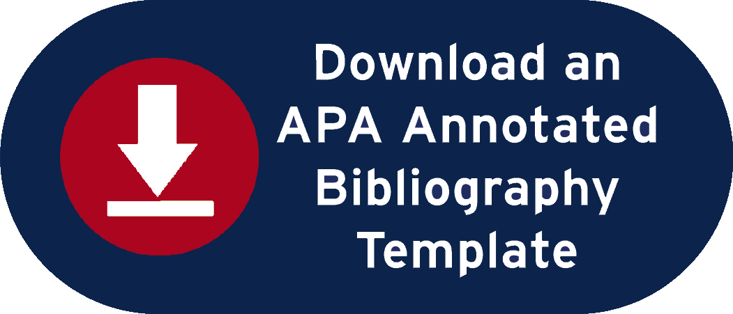 APA Annotated Bibliography Button