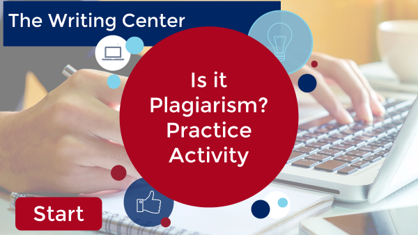 Is It Plagiarism Practice Activity