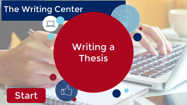 Writing a Thesis Video Tutorial